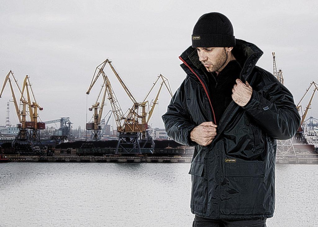 Vestuario laboral para ambientes fríos
