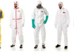 Ropa de protección contra productos químicos   MarcaPL