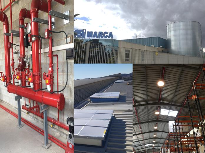 MarcaPL instala un avanzado sistema contra incendios
